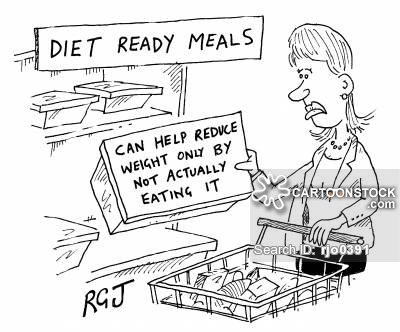 """Package advice: """"Can only help reduce weight by not actually eating it."""""""